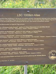 LSC weiht 1000km Allee ein