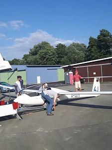 LSC ersetzt Flugzeug