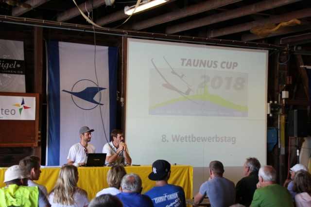 8. Wertungstag - Briefing & Startaufbau