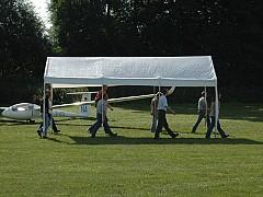 Vorbereitung fürs Flugplatzfest